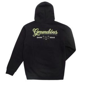 Dark Seas x Grundens Custom Black Hoodie Pullover